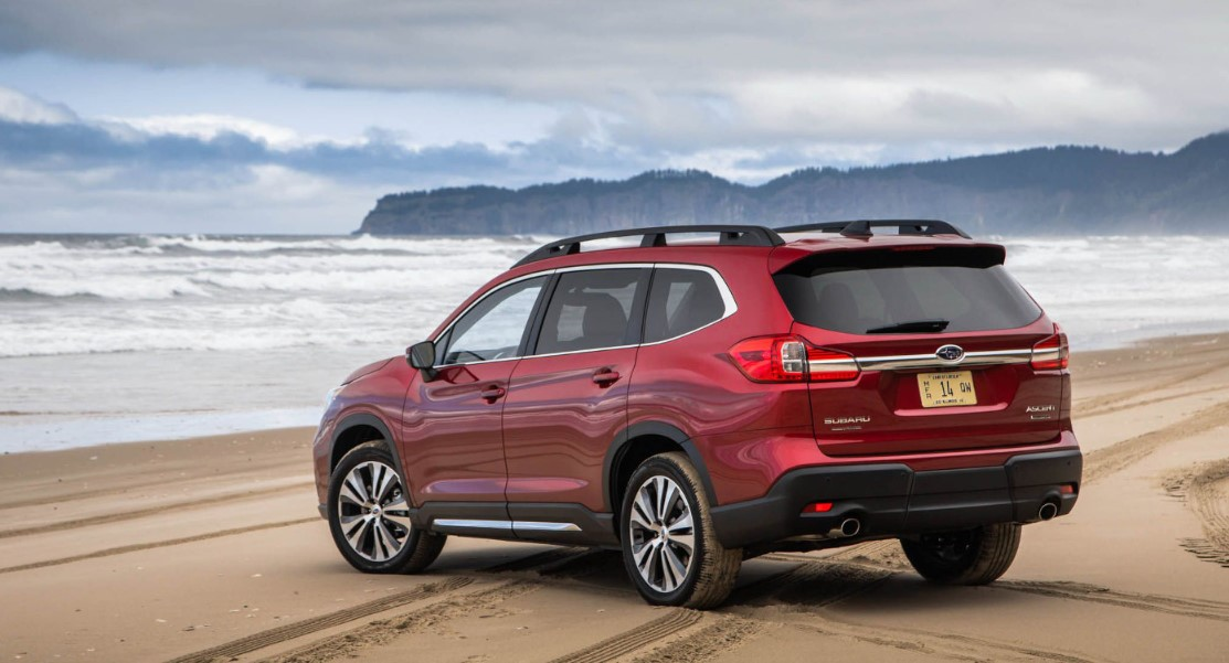 2021 subaru ascent touring transmission option color