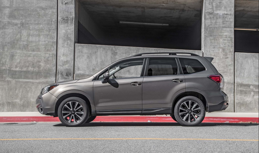 2021 Subaru Forester STI Safety Changes