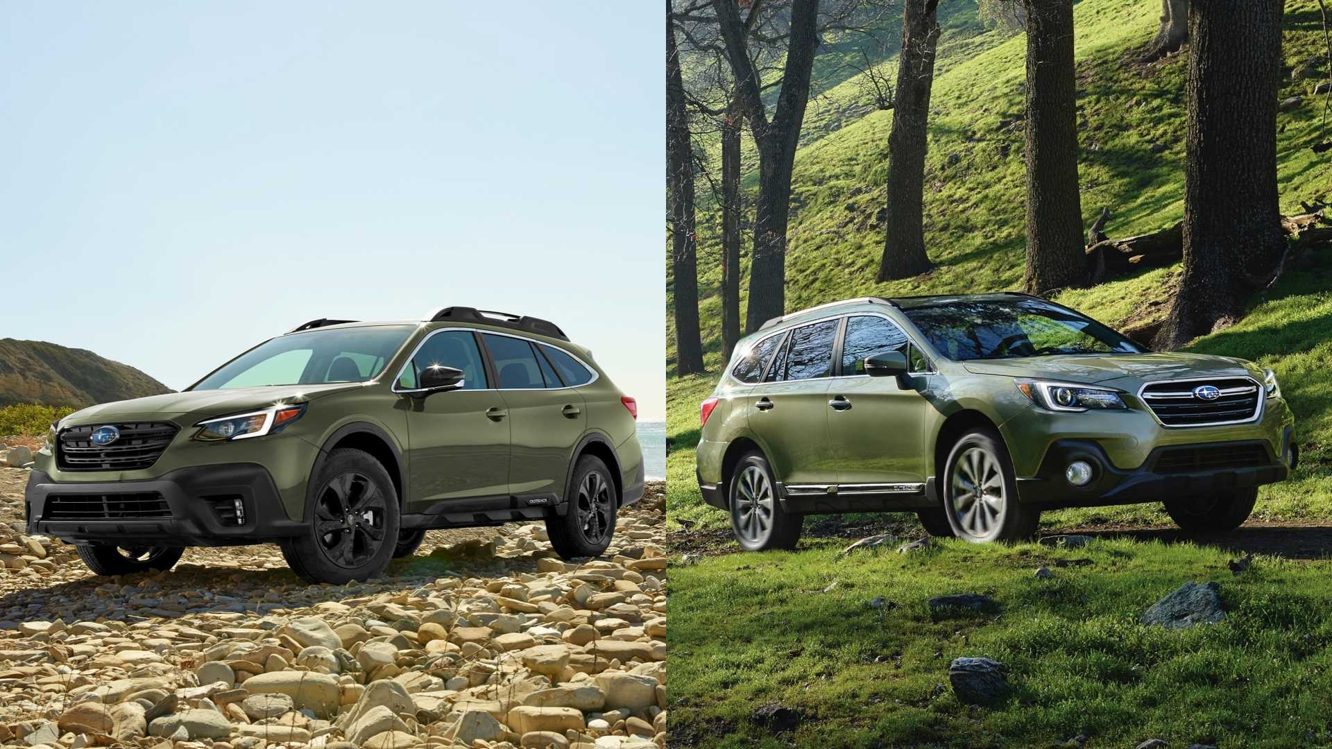2020 Subaru Outback: See The Changes Sideside - 2022 Subaru Outback Cargo Dimensions, Premier Color, Interior